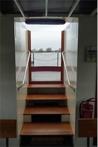 Werkendam Heusden 151218 Fluisterboot kajuittrap