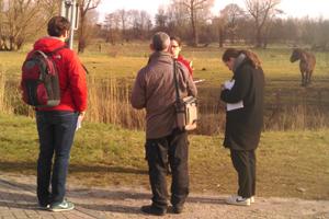 Observatieoefening tijdens opleiding permacultuur