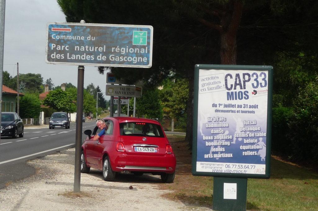 Kekke auto Frankrijk 2016