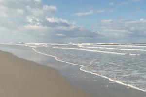 Strand en zee op Terschelling