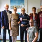 Jan Smit met kinderen en kleinkinderen