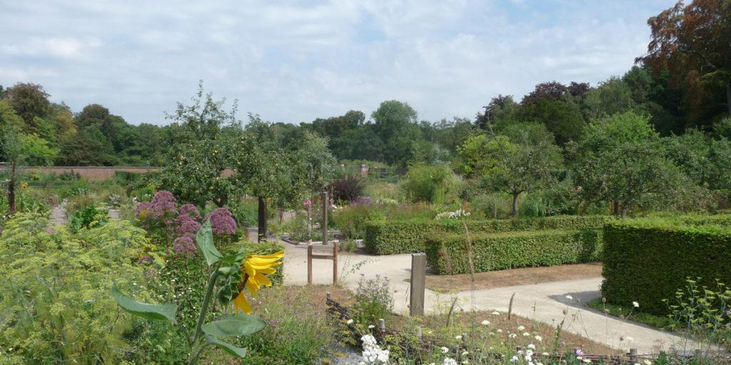 180801 Vordenstein (19) Zicht op ommuurde tuin
