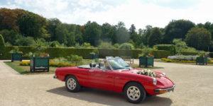 180801 Vordenstein (28) Cabriolet in oranjerietuin